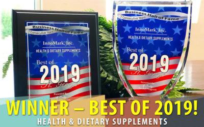 InnoMark Receives 2019 Best Of Award